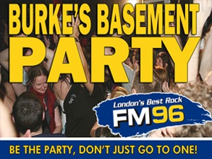 Burke's Basement Party