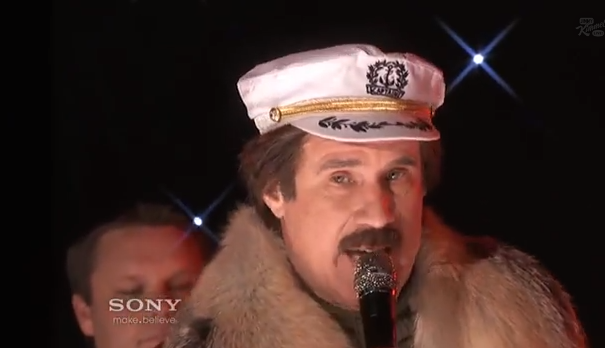 Ron Burgundy Performs 'Ride Like The Wind' with Christopher Cross