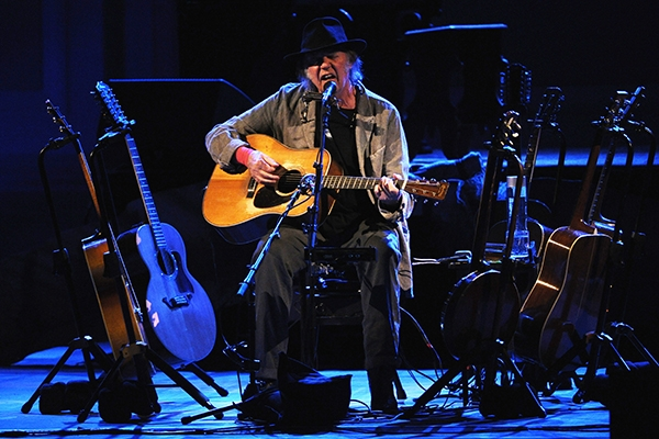 Neil Young on his retro-tech new album, sci-fi book