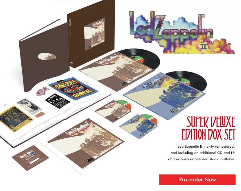 Watch Led Zeppelin's new 'Whole Lotta Love' video