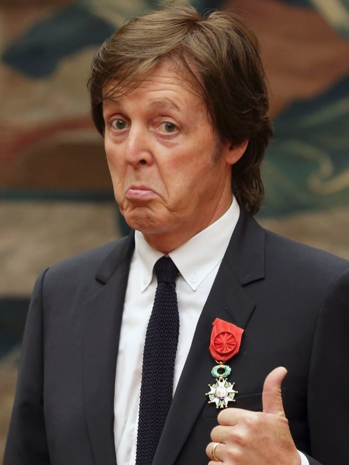 Paul McCartney snubbed 30 years later?
