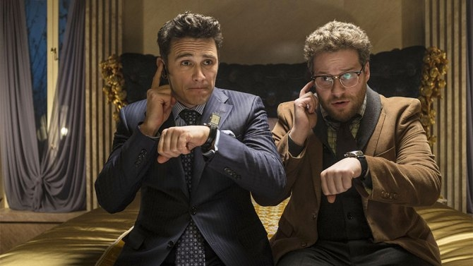 Leaked info about Seth Rogan's latest comedy...and it looks funny.