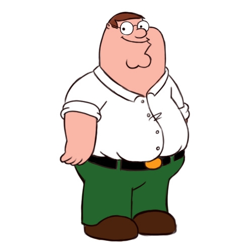as the Real Life Peter Griffin goes to New York Comic Con 2014How To Draw Peter Griffin