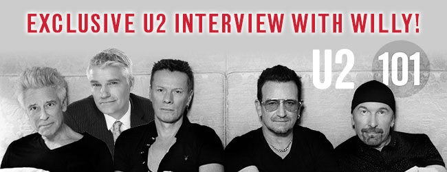 Exclusive Interview With U2