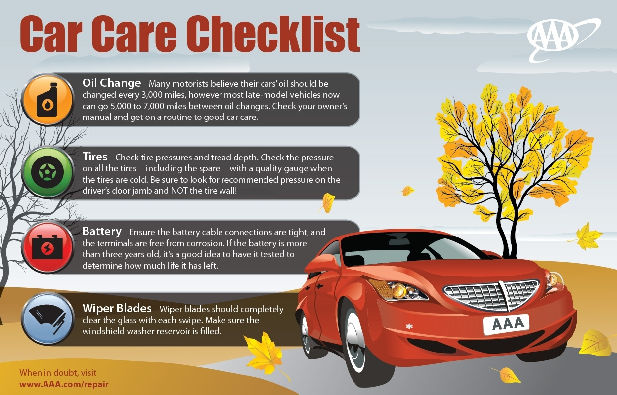 It's almost summer! Get your vehicle check-up!