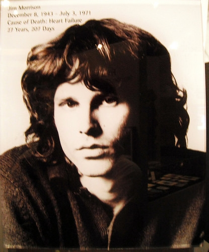 The night Jim Morrison disappointed Robert Plant.