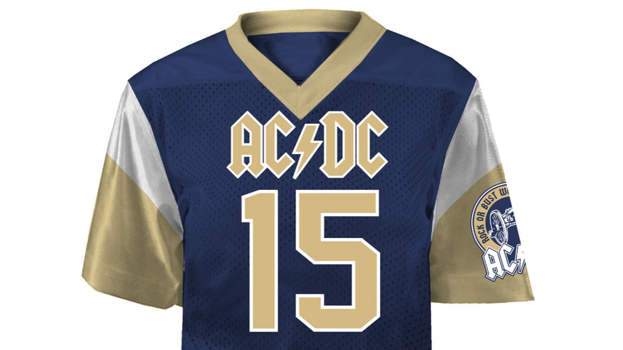 ACDC Launch Home Team Jerseys