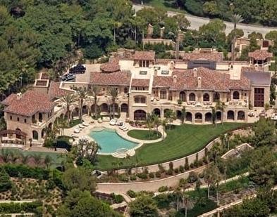 Top $$$ celeb homes...and Hugh Hefner is not #1.