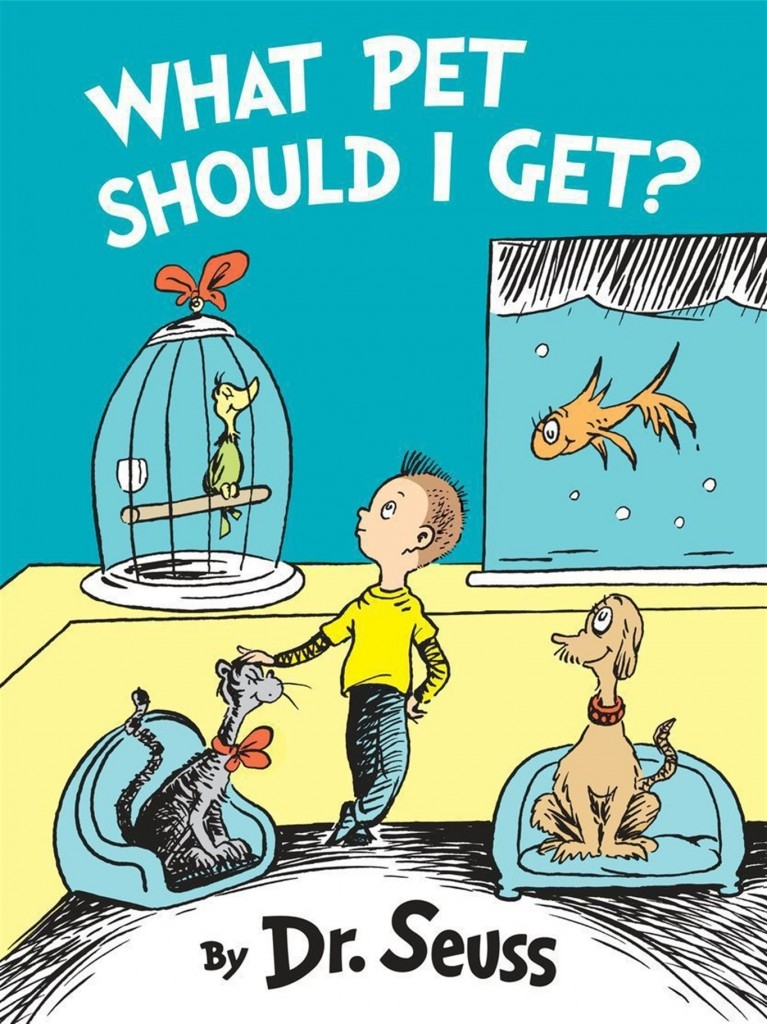 Did you grow up with Dr. Seuss? Well, guess what.......?