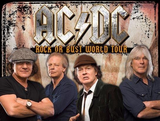 AC/DC Kicks Off North American Leg of Rock or Bust World Tour