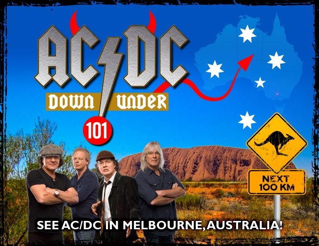 AC/DC Down Under