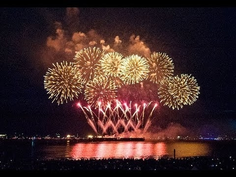 Team Canada wins fireworks competition. Here's why. *VIDEO*