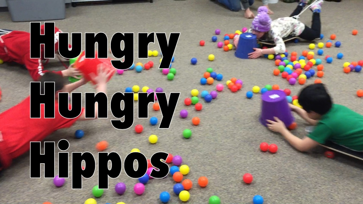 "Summer's not over until you play ""Human Hungry Hungry Hippos""."