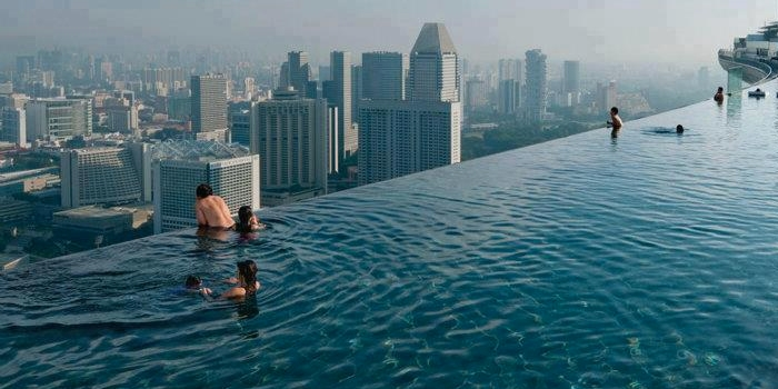 """Would you swim in a """"Sky Pool""""?"""