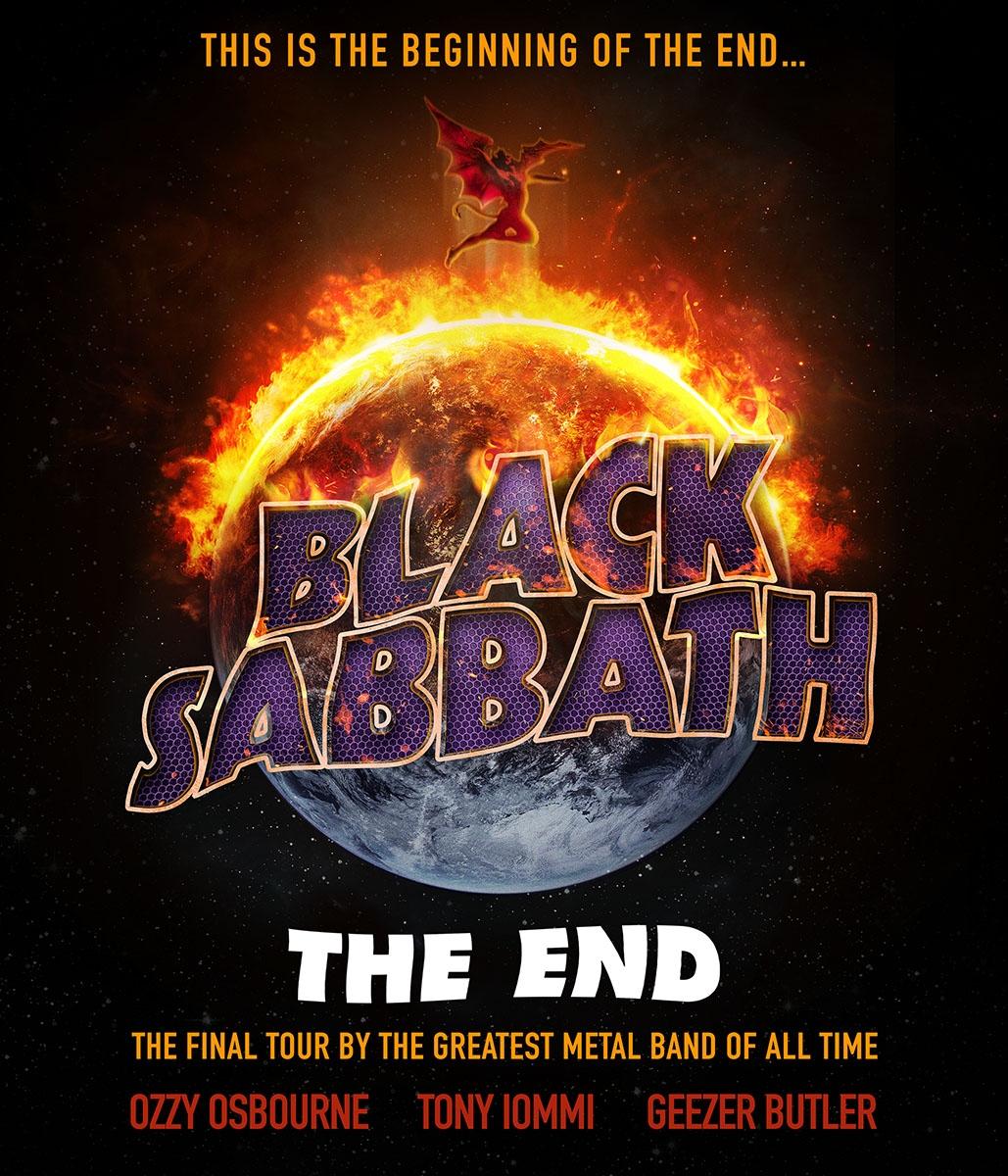 BLACK SABBATH ANNOUNCE FAREWELL TOUR
