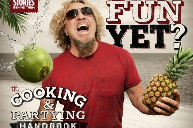 "Sammy Hagar ""are we having any fun yet""  HELL YES!!!!"