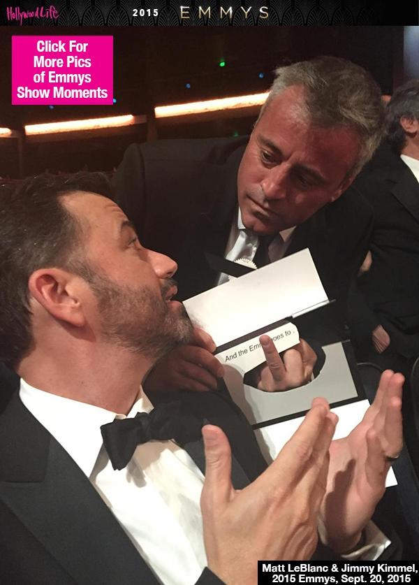 LeBlanc Offers Kimmel Special Emmy Salute