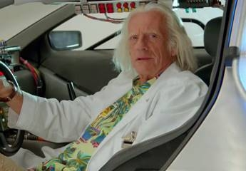 Back to the Future... October 21st, 2015... Doc Brown and Jaws 19!!