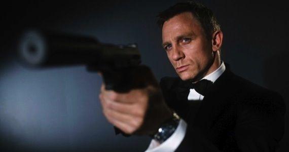 """Daniel Craig told to """"shut up""""."""