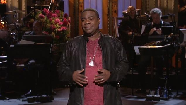 Tracy Morgan's first appearance after tragic car crash: SNL last night *WATCH*