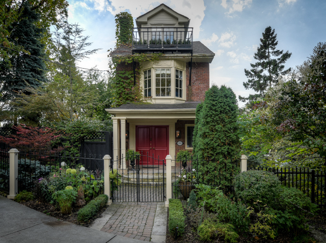 Have a look inside the (former) home of  Gord Downie