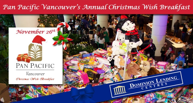 28th Annual Pan Pacific Vancouver Christmas Wish Breakfast