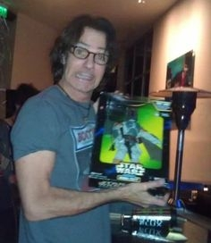 Rick Springfield Shows Off His Star Wars Action Figures....
