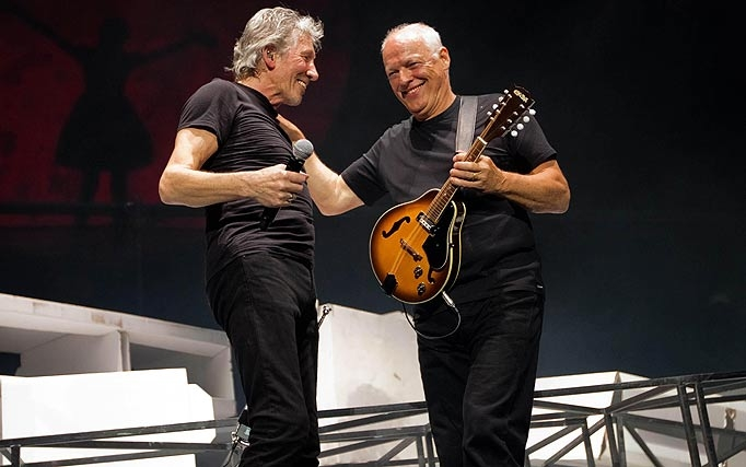 """Roger Waters; """"David Gilmour has a lousy sense of humor."""""""
