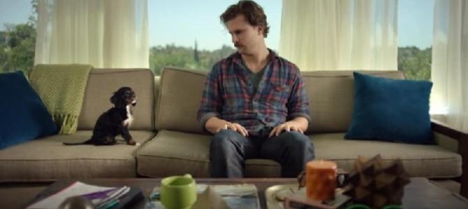 Good gawd...cutest man/dog thing ever (VIDEO)