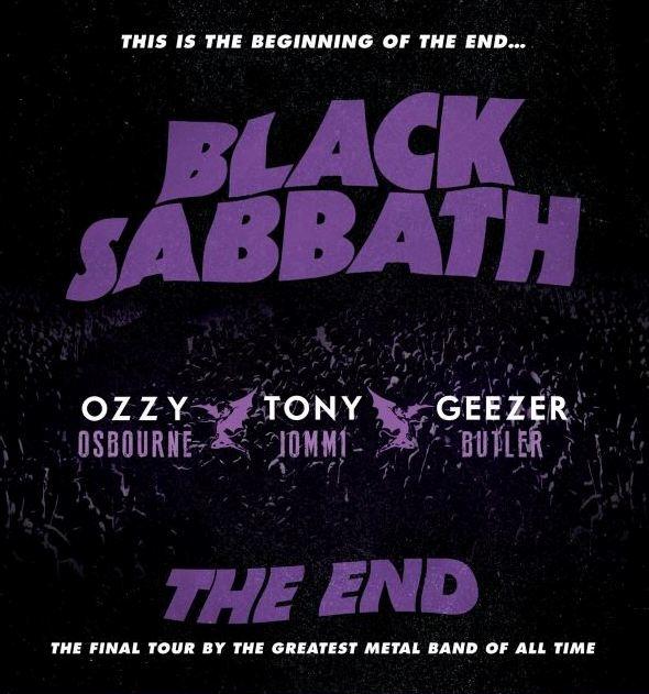 Black Sabbath open tour in Omaha