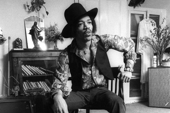 Hendrix's Flat in London Now a Heritage Site