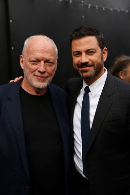 David Gilmour plays Jimmy Kimmel