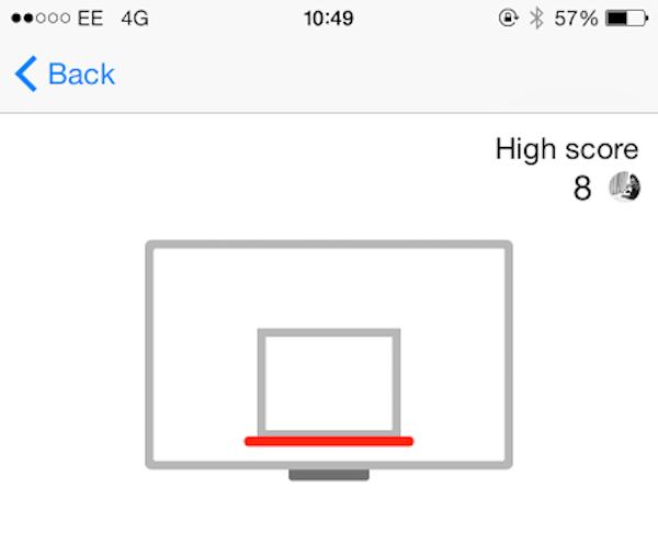 Hidden Basketball Game on Facebook Messenger