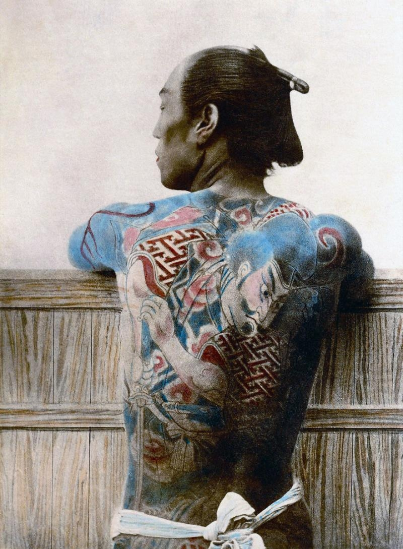 Pictures of real Samurai from the 1800's