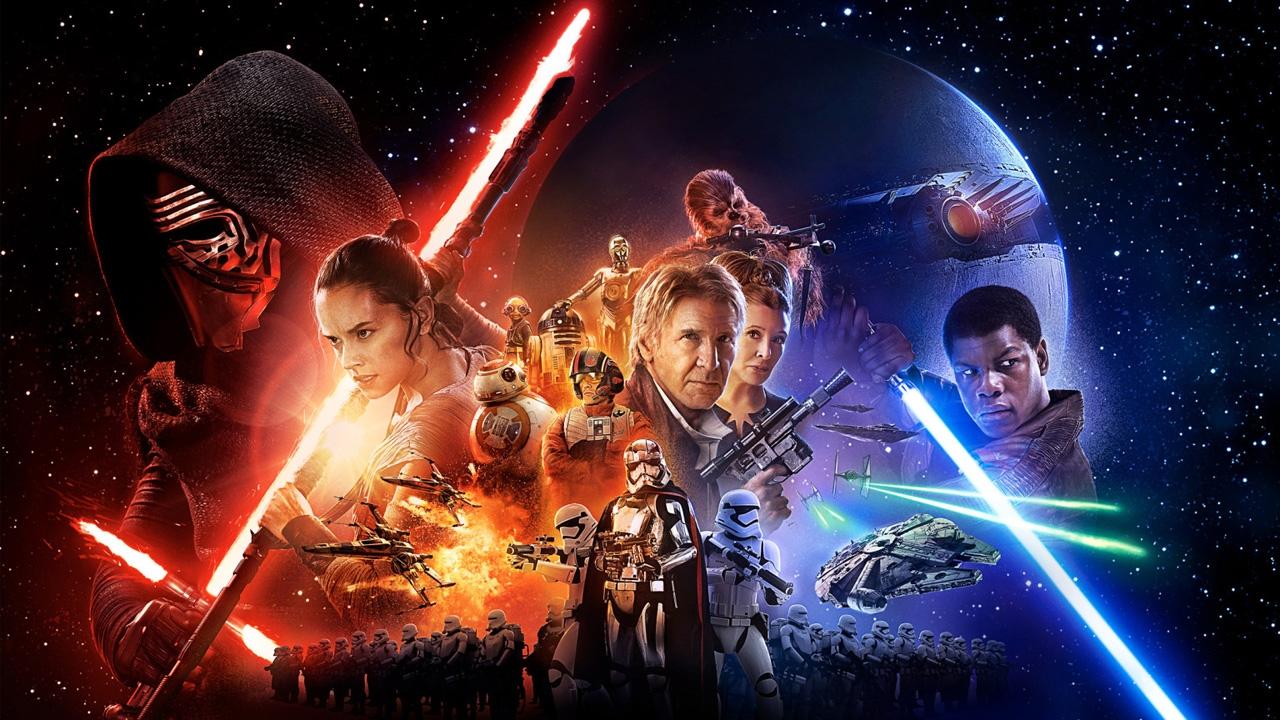 Star Wars movie magic.