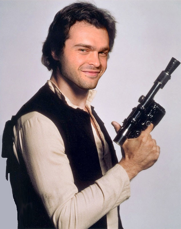 And the new Han Solo is.....