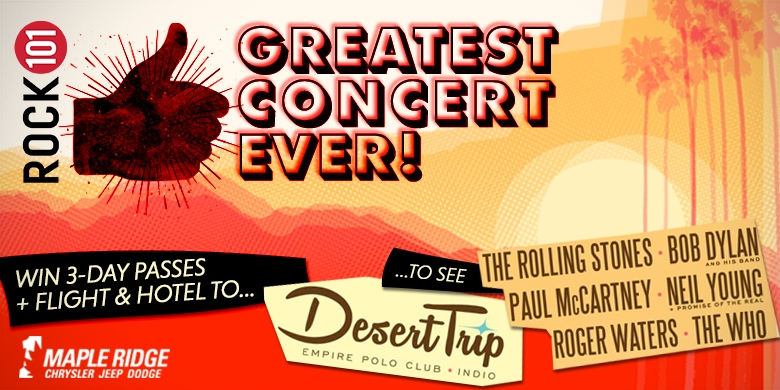Rock 101's Greatest Concert EVER!