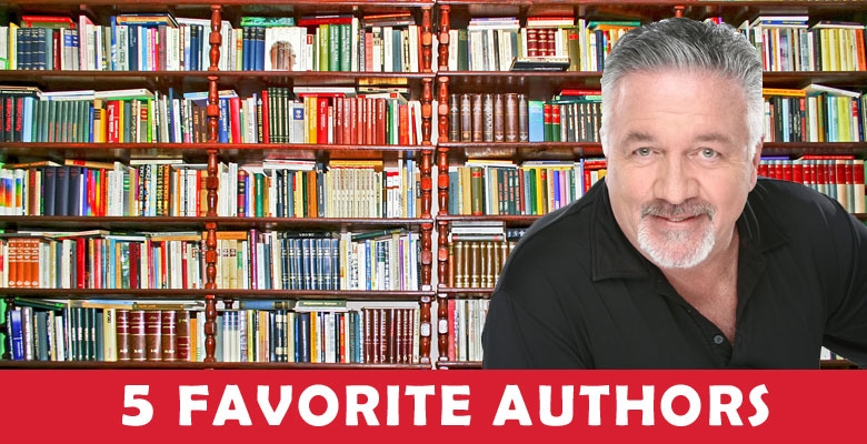 Dean Hill's 5 Favorite Authors You Need To Check Out