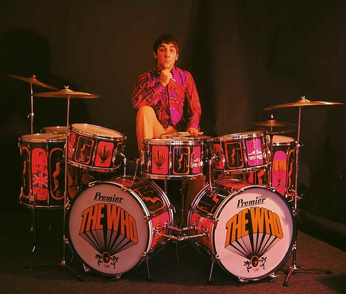 On this day Keith Moon's final official show