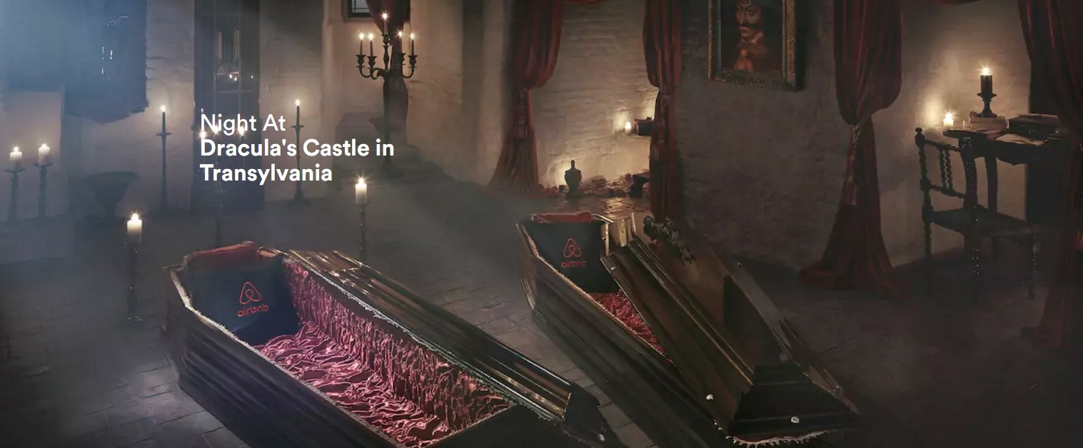 Would you spend a night in Dracula's Castle?