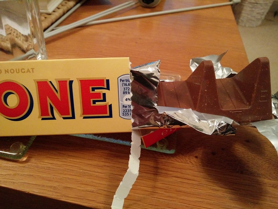 Something Funny Going On With Toblerone