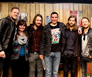Imagine Dragons Buzz Session Listener Photos