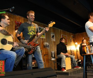 3 Doors Down Buzz Session Photos