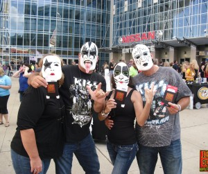 KISS at Bridgestone Arena