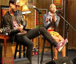 Fitz and the Tantrums Buzz Session Photos