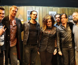 Queens of the Stone Age Buzz Session Listener Photos