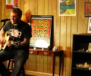 Gaslight Anthem Buzz Session Photos