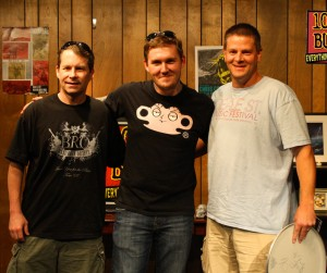 Gaslight Anthem Buzz Session Listener Photos