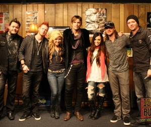 Hinder Buzz Session Listener Photos