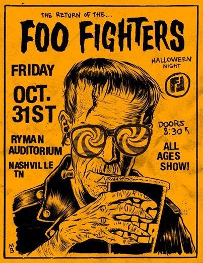 Foo Fighters AtThe Ryman on Halloween: Listen-To-Win